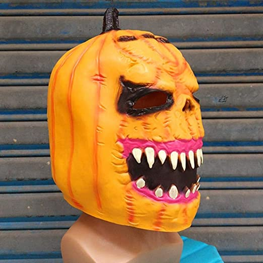 JINMM Máscara Miedo Halloween, Máscaras Accesorios, Máscara De ...
