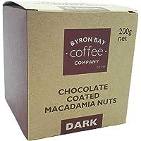 Byron Bay Coffee Company Dark Chocolate Coated Macadamia Nuts, 200g