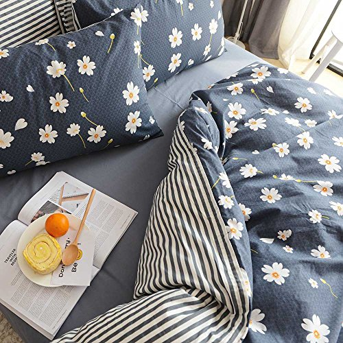 HIGHBUY Floral print Kids Girls Duvet Cover Sets