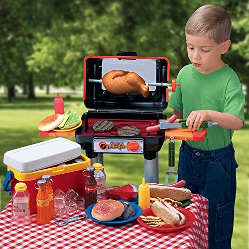 CP Toys Bar-B-Que Pretend Play Set with Grill and