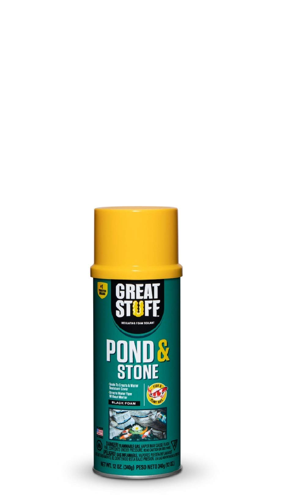 GREAT STUFF Pond & Stone 12 oz Insulating Foam Sealant