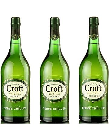 Croft Original Pale Cream - Vino D.O. Jerez - 3 botellas x 1000 ml - Total