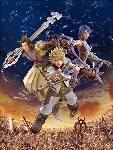 Heart Scroll (Kingdom Hearts Wall Scroll 24x36)