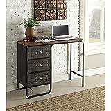 4D Concepts Locker Computer Desk in Gray For Sale