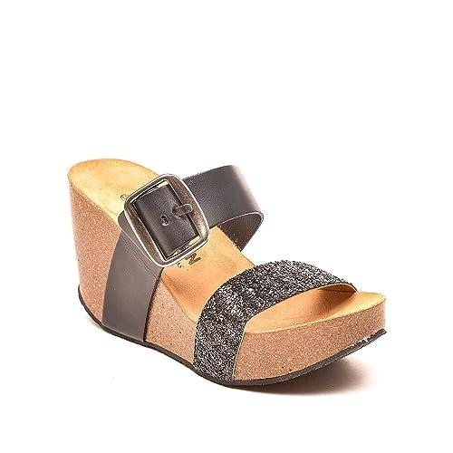 PLAKTON - Sandalias de vestir para mujer negro negro 37 blX5ZAD