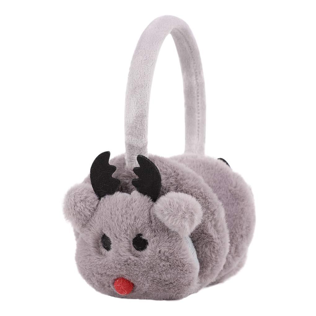 Kids Toddlers Ear Muffs Faux Fur Earmuffs Ear Warmers Covers Earwarmer Earlap Clobeau