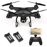 SJ R/C / C S20W1080P (GPS) WiFi FPV Regolabile 1080P HD Telecamera Wide Angle RTF GPS Posizionamento Altitudine Hold Drone w / 2 Batterie
