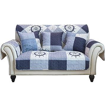 ZMYLOVE Cubiertas de sofá Retro, Protectores de sofá Funda ...