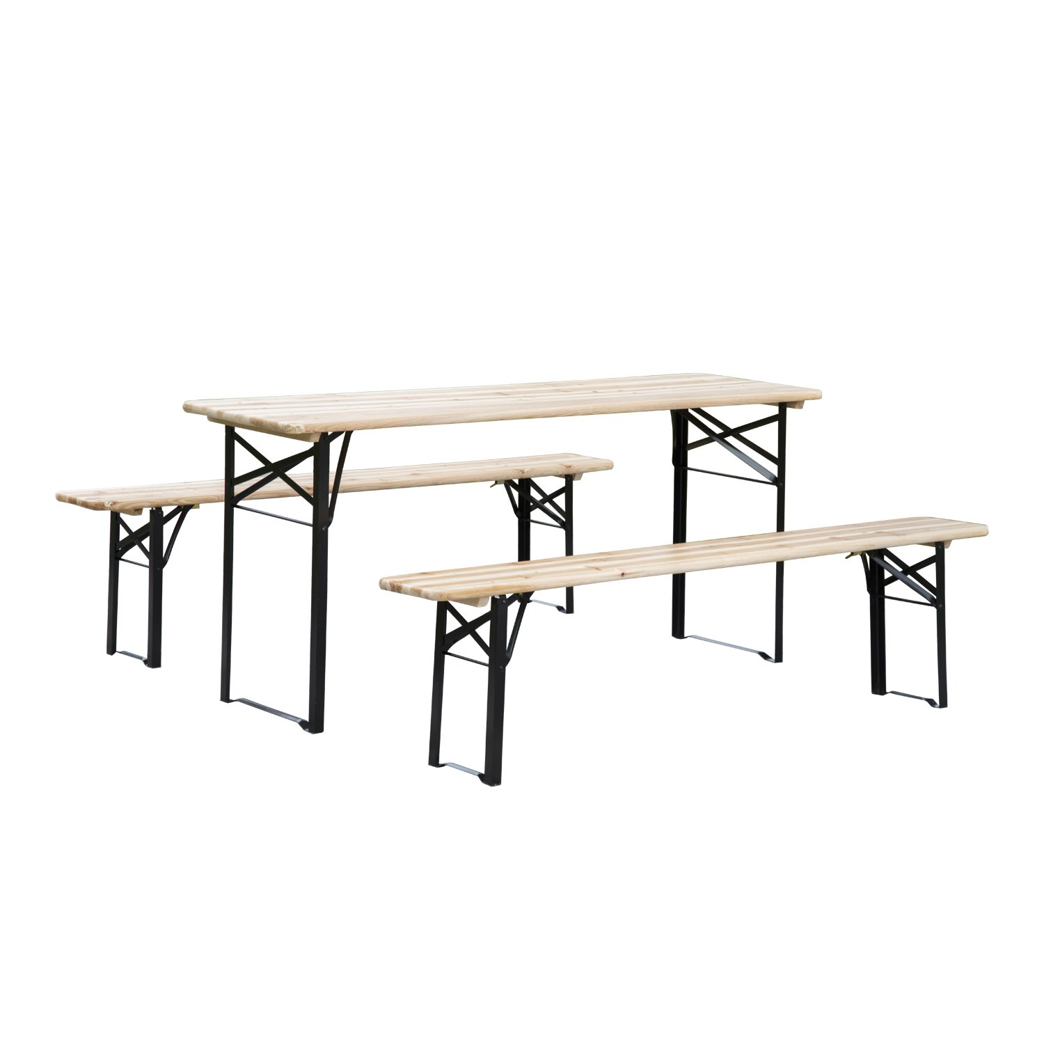 lifetime folding pieghevole seating en benches plastic beam metal panca bench