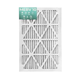 20x25x4 Merv 11 Honeywell Repl Filter 5 Pack by Glasfloss Industries
