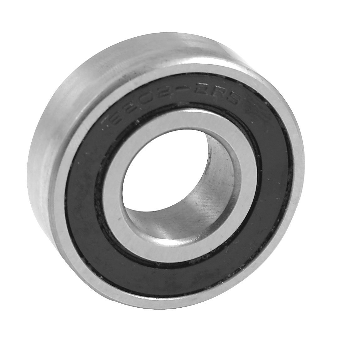 SODIAL(R) 6202-2RS Shielded 15mm x 35mm x 11mm Deep Groove Ball Bearing