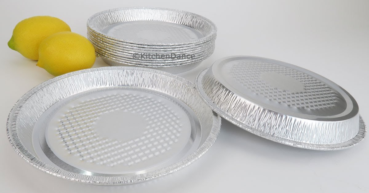 Disposable Aluminum 7'' Individual Pizza Pans By D & W Fine Pack #WE50 (250)