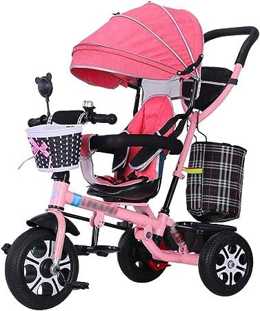 Cochecito Triciclo para niños 4 en 1 Triciclo rápido Trike con ...