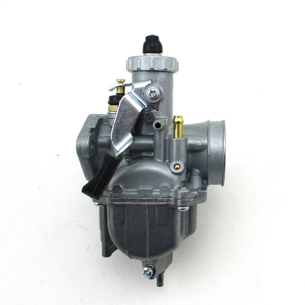 XLYZE VM22 Carburador de carburador de 26 mm para Mikuni 125cc 140cc Lifan YX Zongshen Motocicleta de pozo Pit XR50 CRF70 KLX Motocicleta