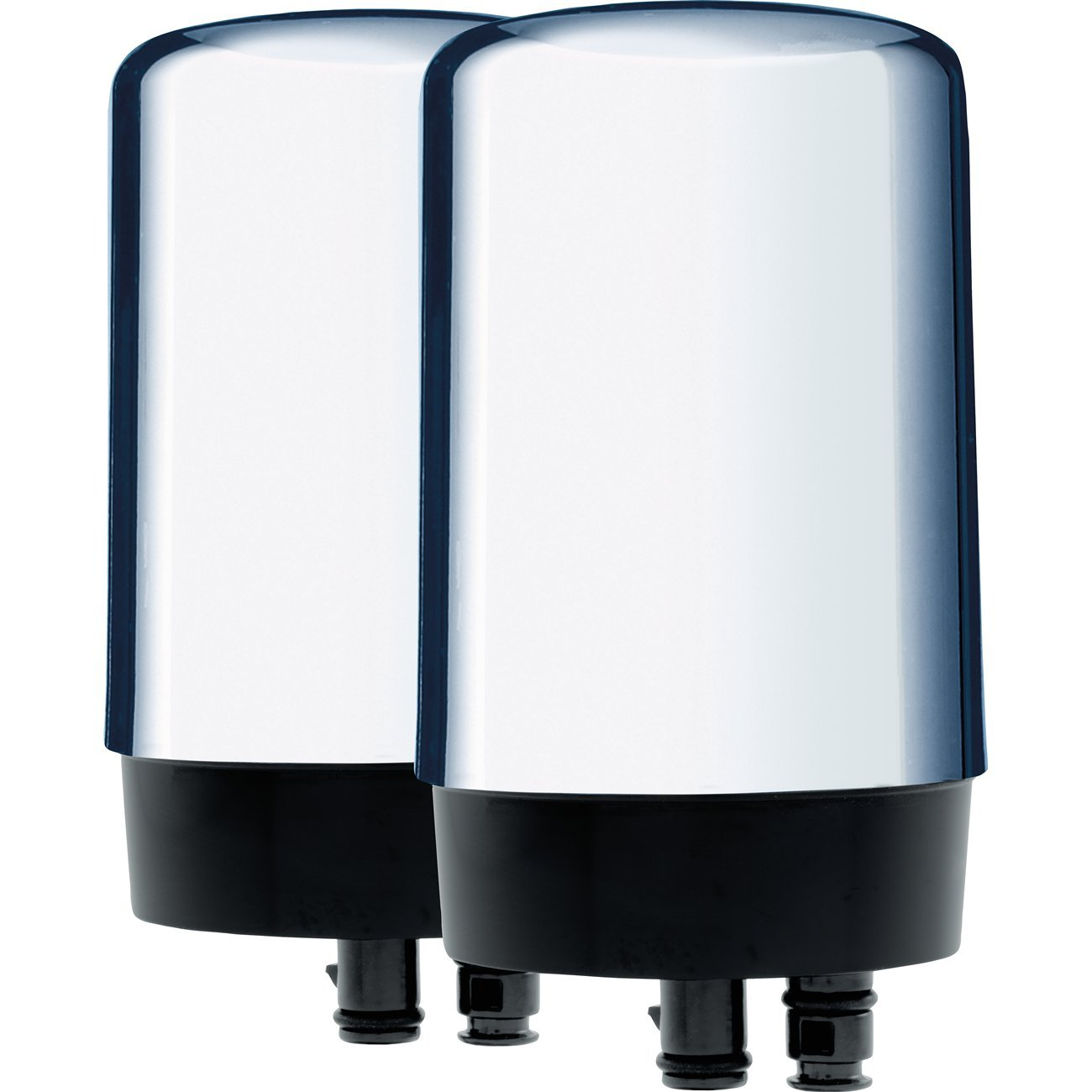 Brita On Tap Water Filtration System Replacement Filters For Faucets - Chrome - 2 Count