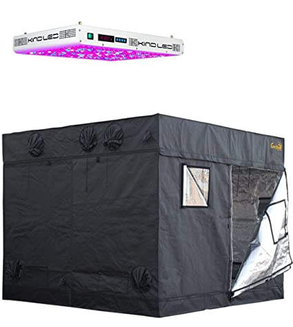 8x8 Grow Tents With Light by Gorilla Grow Tent - Lite Line with K5 Series XL100  sc 1 st  Amazon.com & Amazon.com : 8x8 Grow Tents With Light by Gorilla Grow Tent - Lite ...