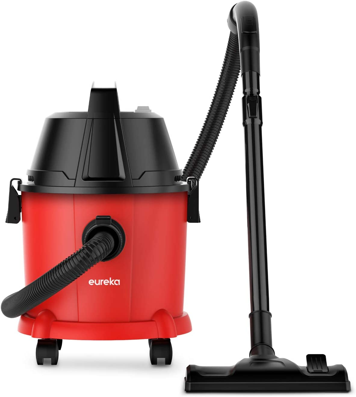 Eureka Wet and Dry Vacuum, Vacuum Cleaner, 3 in 1 Function , 15L Capacity and 1400W Compact with Safe Buoy Technology, WetDry Blowing for Dirt and