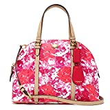NWT Coach Peyton Floral Cora Domed Satchel F31341