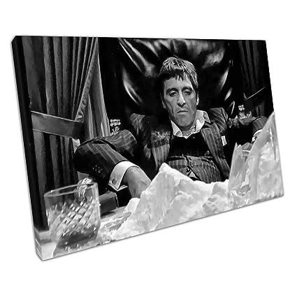 Scarface Canvas Art Print *VARIOUS SIZES* TONY MONTANA MOVIE WALL ART
