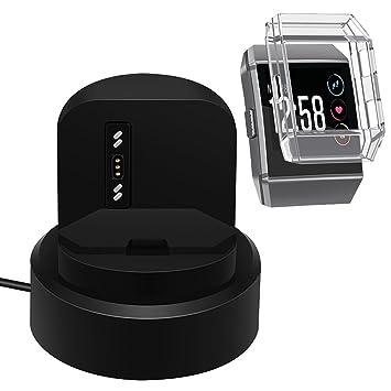 Base de carga para Fitbit Ionic con estuche protector, Reemplazo de la base de carga