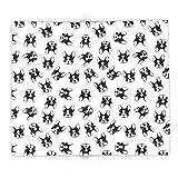 Society6 French Bulldog Pattern 88'' x 104'' Blanket