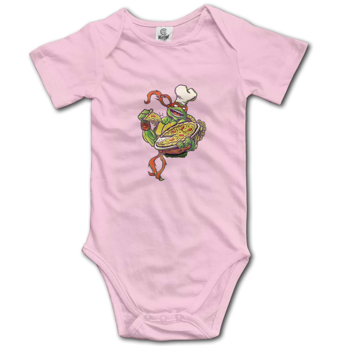 Bodysuits Clothes Onesies Jumpsuits Outfits Black Turtle Pizza Baby Pajamas