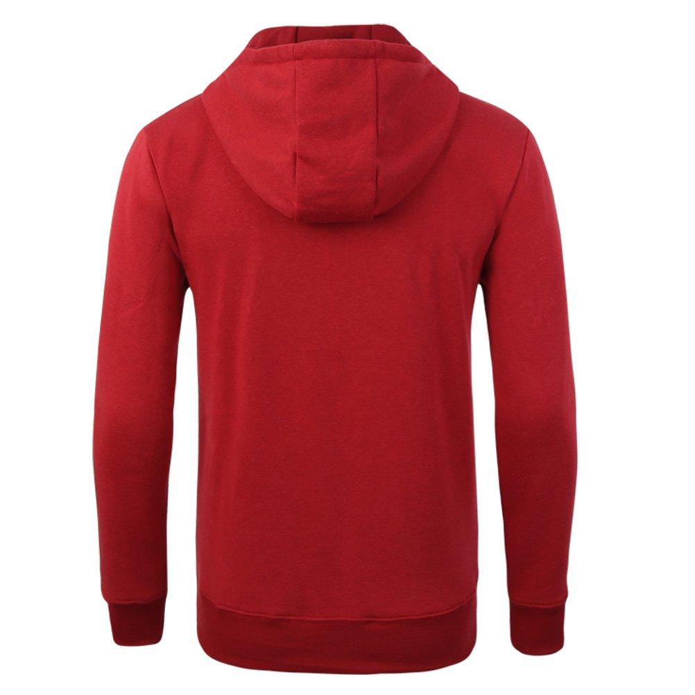 Zhuhaitf Mens Teenagers Long Sleeve Hoodies Hoodie Hoody Jacket Halloween Gift