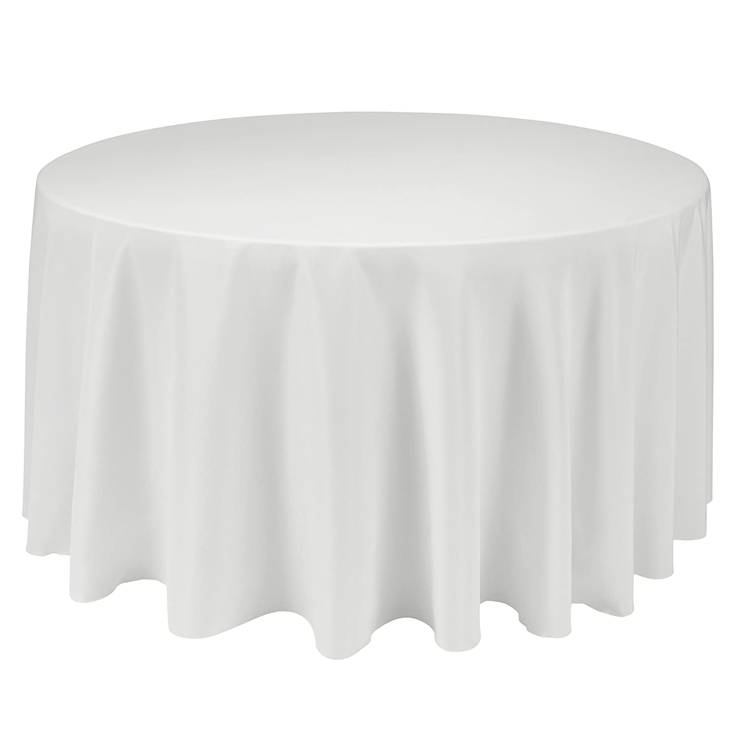 Super Remedios Round Tablecloth Solid Color Polyester Table Cloth For Bridal Shower Wedding Table Wrinkle Free Dinner Tablecloth For Restaurant Party Download Free Architecture Designs Scobabritishbridgeorg
