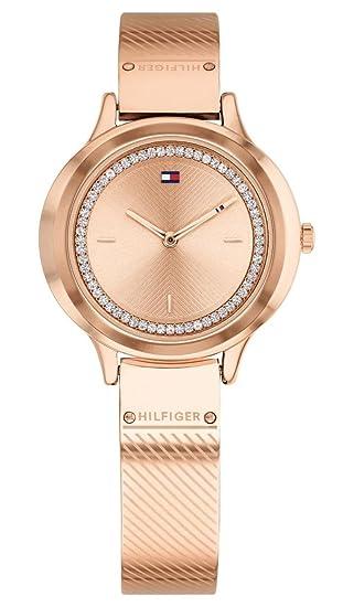 Tommy Hilfiger Reloj Analógico para Mujer de Cuarzo con Correa en Acero Inoxidable 1781911