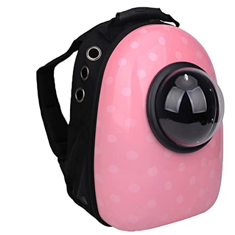 d7d3991f99 Image Unavailable. Image not available for. Color: Pet Portable Carrier  Bubble Backpack Pet Carriers Innovative Traveler for Cats Dogs ...