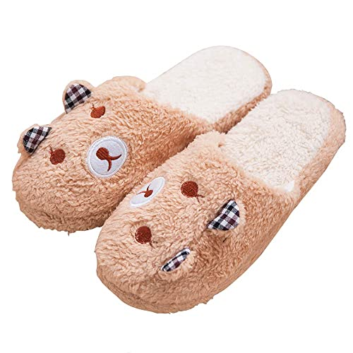 68250157dd90d Women's Comfort Memory Foam Slippers Cute Breathable Velvet House Shoes  w/Indoor Outdoor Anti-Skid Sole