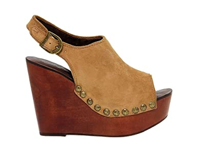 Jeffrey Suède Campbell Femme Beige Chaussures Compensées Jeffrsnicks TluOZwkiXP