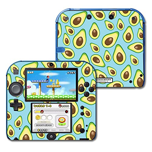 mightyskins-protective-vinyl-skin-decal-cover-for-nintendo-2ds-wrap-sticker-skins-blue-avocados