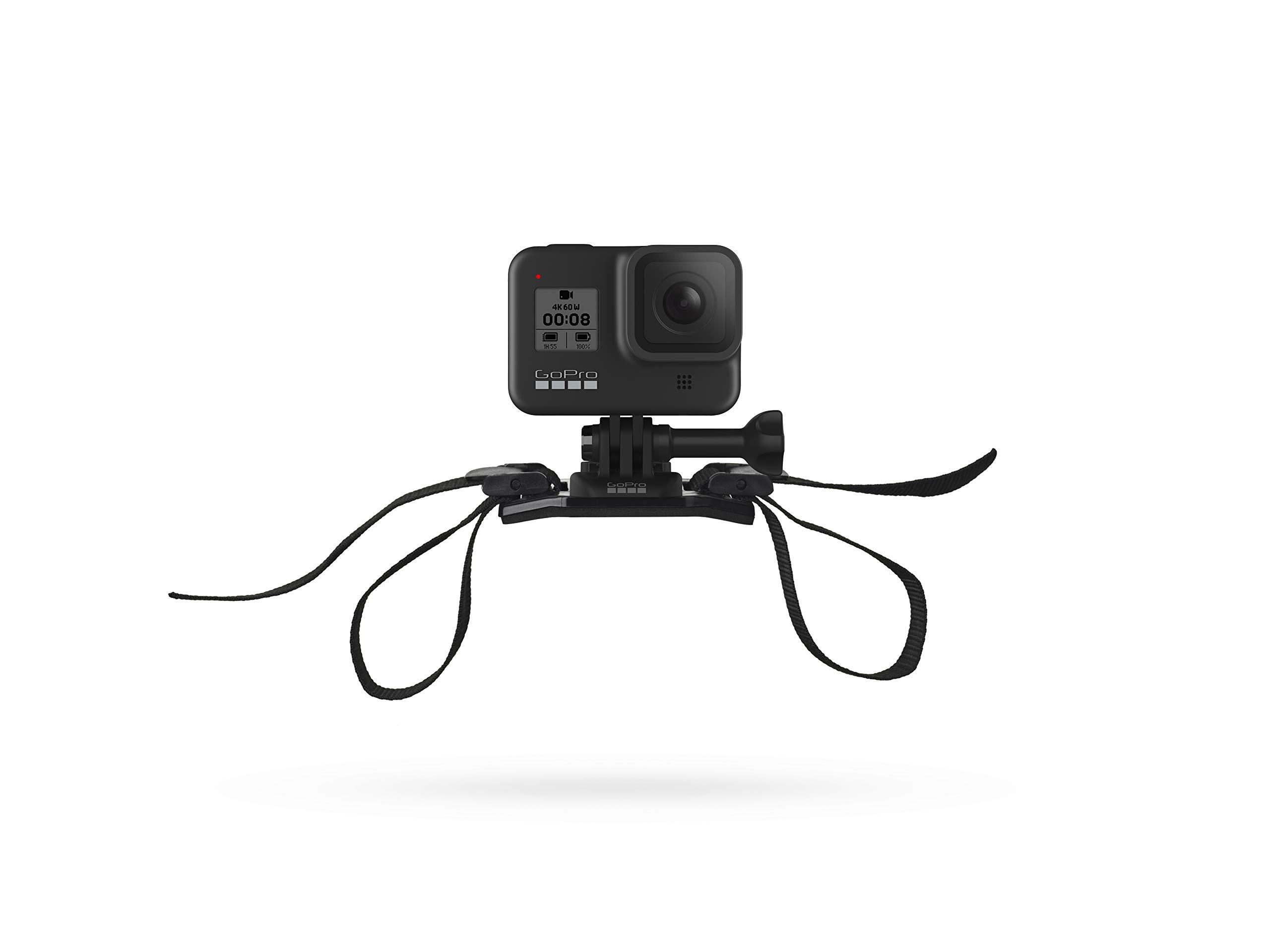 GoPro Vented Helmet Strap Mount (All GoPro Cameras) - Official GoPro Mount by GoPro