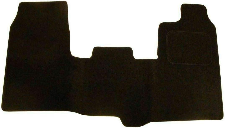 Van Demon Tailored Fit 1pc Front Black 3mm Rubber Floor Mat for Ford Transit Custom
