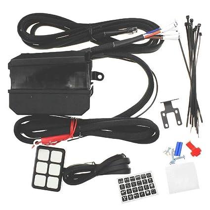 Wondrous Amazon Com Jahyshow 6 Gang Switch Panel Electronic Relay System Wiring Database Gramgelartorg