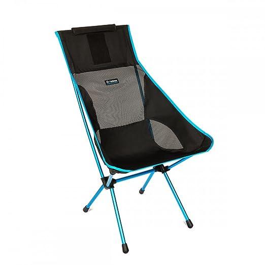 amazon com helinox sunset chair black one size big agnes sports