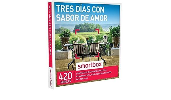 Smartbox - Caja Regalo Tres dias con Sabor de Amor : Amazon.es: Deportes y aire libre