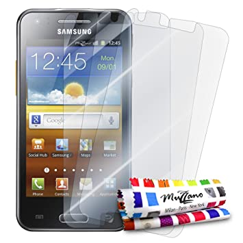 Muzzano Protections Ecran Pour SAMSUNG GALAXY BEAM 3 Films UltraClearTransparents