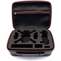 Bestmaple Portable Storage Bag PU Carrying Case for DJI SPARK Drone Accessories