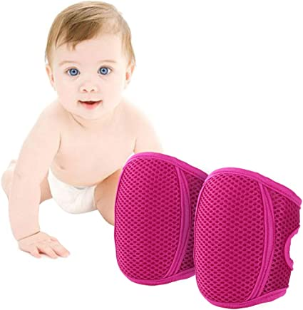 WolinTek 3 paires Genouillere Bebe Antid/érapant Protege Genoux Bebe Coton Unisexe Genouill/ères B/éb/é,adorables genouill/ères b/éb/é pour ramper