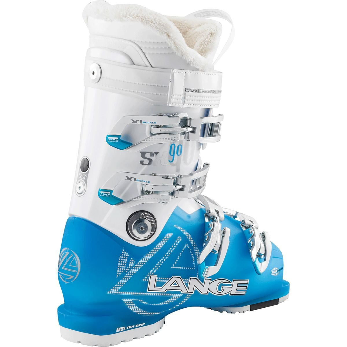 899d98186e 90 W color azul Sx color azul para mujer Lange-Botas De esquí