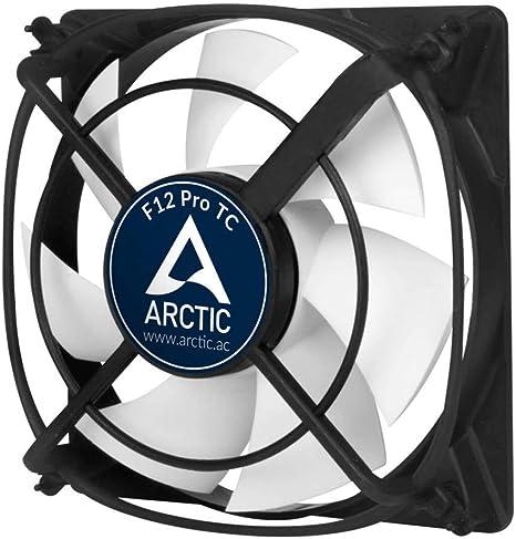 ARCTIC F12 Pro TC - Ventilador de PC (Carcasa del Ordenador ...