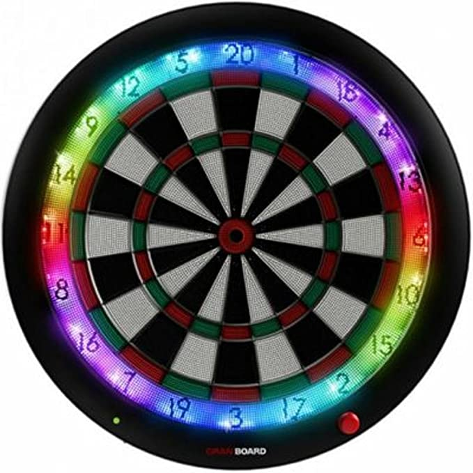 Gran Board 3 LED Bluetooth Dartboard - Best Soft Tip Dartboard with Bluetooth