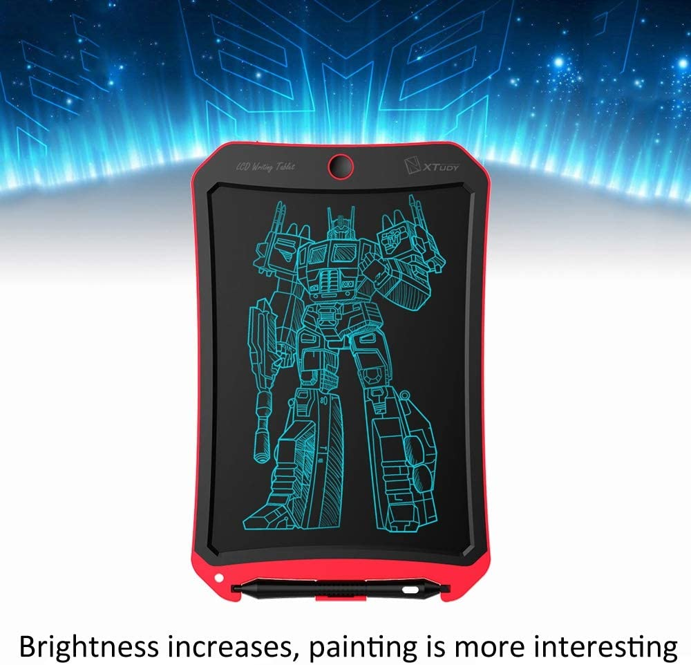 Pink Color : Red SHENGMASI Digital Drawing Board WP9316 10 inch LCD Monochrome Screen Writing Tablet Handwriting Drawing Sketching Graffiti Scribble Doodle Board for Home Office Writing Drawing