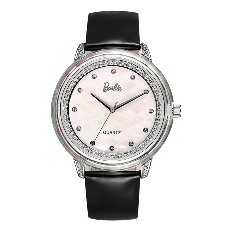 Personalisierte Strass Uhr-Weibliche Art und Weise beilÄufige Quarzuhr-Uhr-B