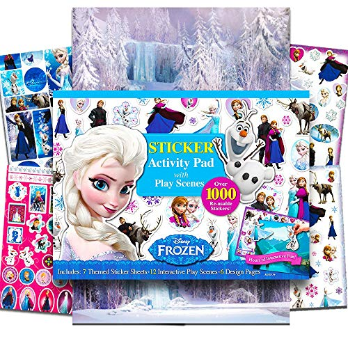 Bendon Frozen Ultimate Sticker Activity Pad]()