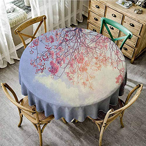 Banquet Round Tablecloth 55