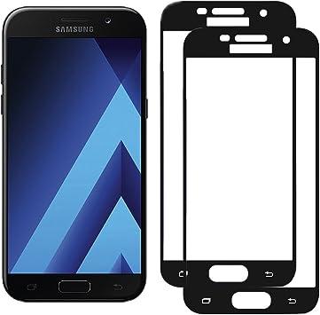 Woocika para Samsung Galaxy A5 2017 Cristal Templado [2-Unidades ...