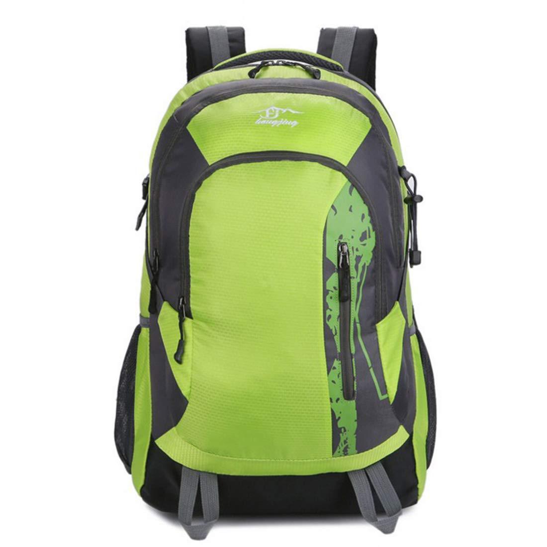 Kunliyin YY1 Outdoor Sports Wasserdichte Doppel Schulter Bergsteigenbeutel (Farbe : Grün)